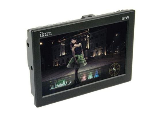Ikan d7w pg6 7 inch 3g sdi lcd monitor with ips panel %28black%29