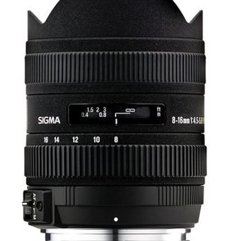 Rent Sigma 8-16mm f/4.5-5.6 DC HSM Ultra-Wide Zoom Lens for Canon