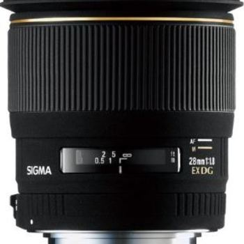 Rent Sigma Wide Angle 28mm f/1.8 EX Aspherical DG DF Macro Lens