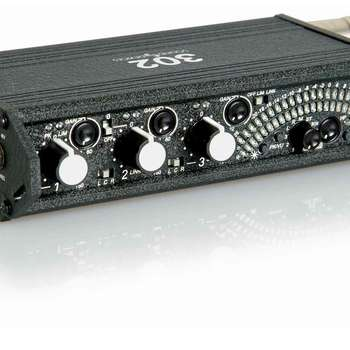 Rent Sound Devices 302 Portable Field Mixer