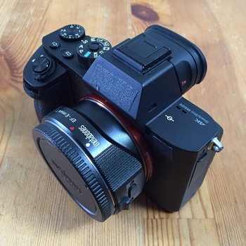 Rent Sony A7s II with Metabones T Smart IV EF-E Adapter