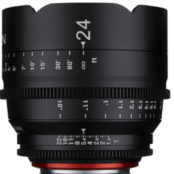 Rent Rokinon Xeen 24mm T1.5 Lens for Canon EF Mount
