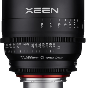 Rent Rokinon Xeen 50mm T1.5 Lens for Canon EF Mount