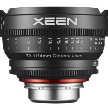 Rent Rokinon Xeen 14mm T3.1 Lens for Canon EF Mount