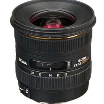 Rent Sigma for Canon EF 10-20mm f/4-5.6