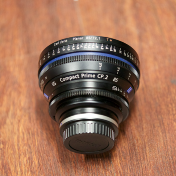Rent ZEISS 85MM T2.1 EF MOUNT CP2 LENS