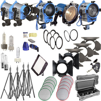 Rent Arri 4 bank Kit with 2 soft boxes