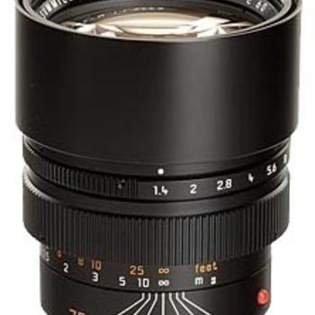 Rent Leica Summilux-M 75mm f/1.4
