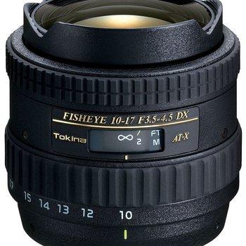 Rent Tokina AF DX 10-17mm f/3.5-4.5 Fisheye Zoom - Canon Mount
