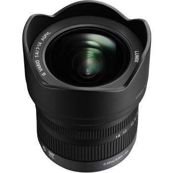 Rent Panasonic Lumix G Vario Wide Angle MFT 7-14mm f/4.0 ASPH. Lens