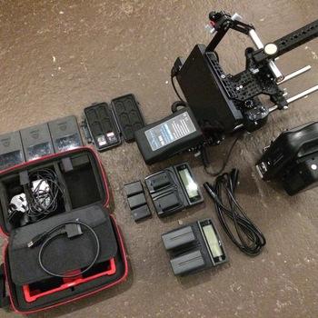 Rent Sony A7s II Full Kit w/Recorder & V-Mount Battery (E-Mount)