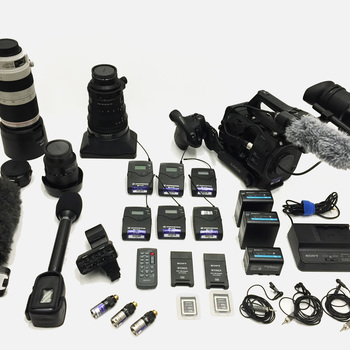 Rent Sony FS7 + 16-35mm + 28-135mm + 100-400mm +  audio kit + tripod