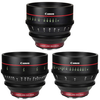 Rent Canon EF Cinema Prime Lens Kit