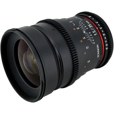 Rokinon  35mm t1 5
