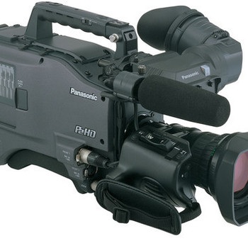 "Rent Panasonic AG-HPX500 2/3"" Shoulder Mounted P2 Camcorder"