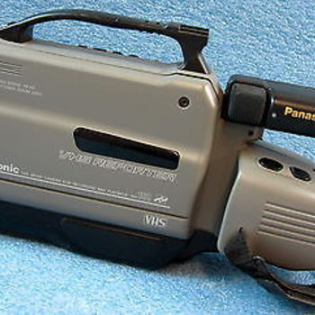Rent Panasonic AG-188 VHS Camcorder