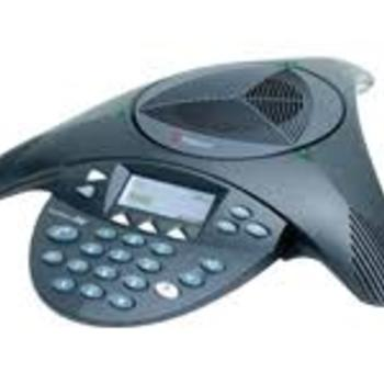 Rent Polycom Telephone Conferencing System