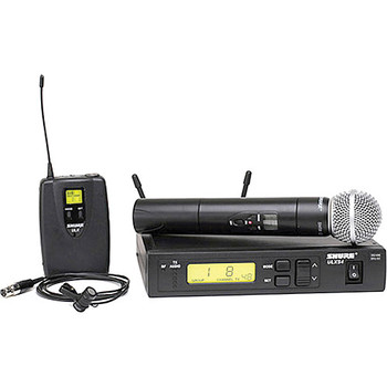 Rent Shure ULX Standard Series Wireless Combo Microphone System