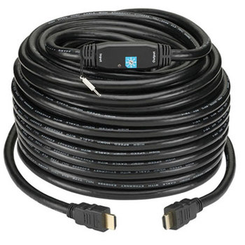 Rent 75 ft HDMI cable with built-in signal booster