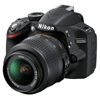 Rent Nikon D3200 DSLR Stills & Video Camera