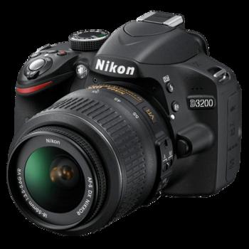 Rent Nikon D3200 DSLR Stills & Video Camera