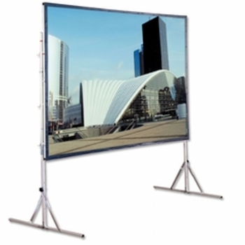 "Rent Dalite Draper front rear (69""x 120"") Projection Screen"