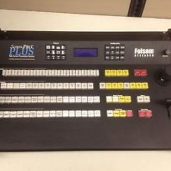 Rent Folsom Screen Pro Switcher