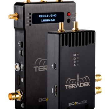 Rent Teradek Bolt Pro 2000 (2nd Generation) Wireless Video 1x Transmitter & 3x Receivers