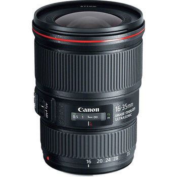 Rent 16-35mm Wide Angle lens with image stabilization