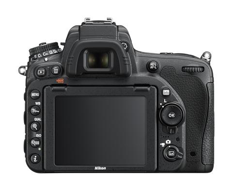Nikon d750 body rear