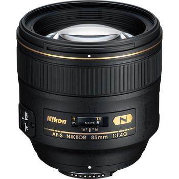 Rent Nikon 85mm f/1.4G Lens