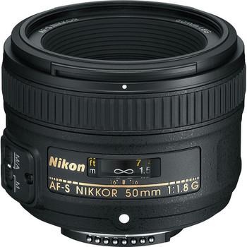 Rent Nikon 50mm f/1.8G Lens