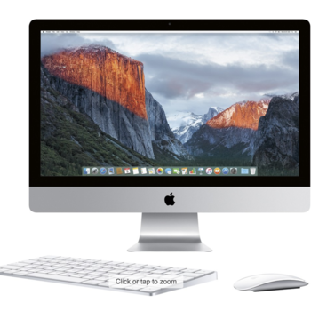 "Rent 27"" Desktop with Retina 5K display - 3.5GHz Intelquad-core Intel Core i5, 1TB Fusion Drive, 32GB 1600MHz DDR3 SDRAM, Mac OS X Yosemite, (NEWEST VERSION)"