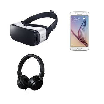 Rent Samsung Gear VR (2016) with Samsung S7 phone