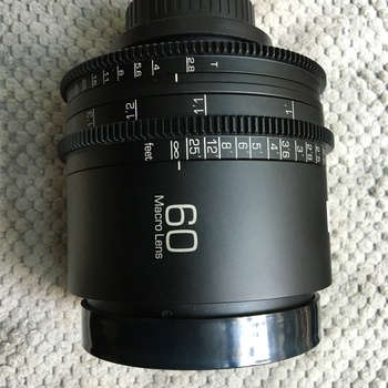 Rent Leica R 60mm f2.8 Macro PL Mount Cinevised lens