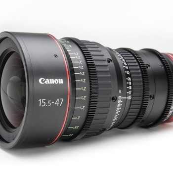 Rent Canon Compact Cine Zoom 15.5-47 PL