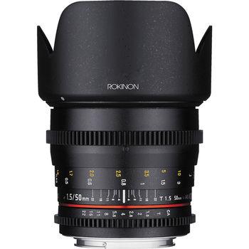 Rent Rokinon 50mm T1.5 Cine DS Lens (EF Mount)