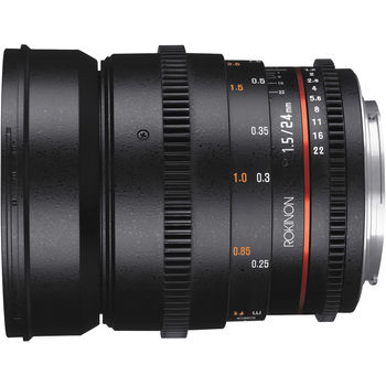 Rent Rokinon 24mm T1.5 Cine DS Lens (EF Mount)