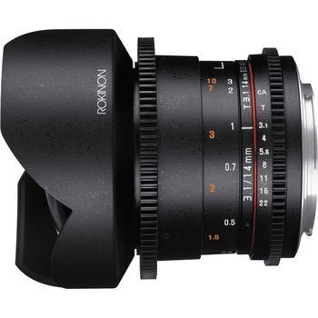 Rent Rokinon 14mm T3.1 Cine DS Lens (EF Mount)