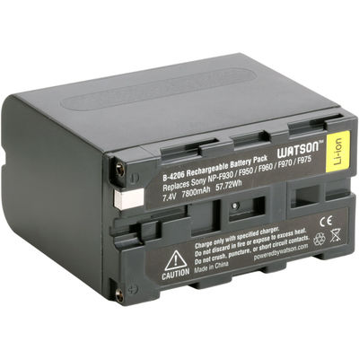 Watson b 4206 np f975 battery pack f sony 836000