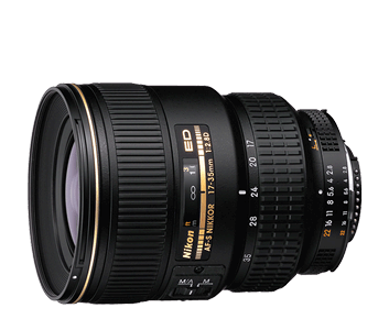 353 1960 af s zoom nikkor 17 35mm f 2.8d if ed front