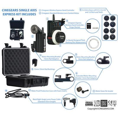 Single axis wireless follow focus express standard kit