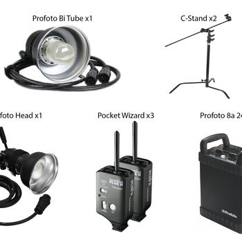 Rent Professional Studio Profoto Kit