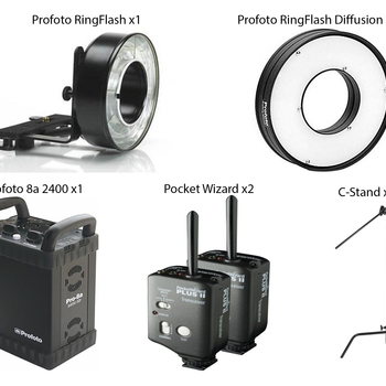 Rent Professional Profoto Ringflash Kit