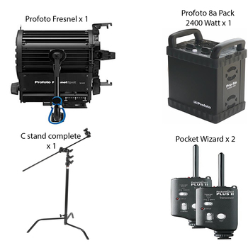 Rent Profoto Fresnel Kit