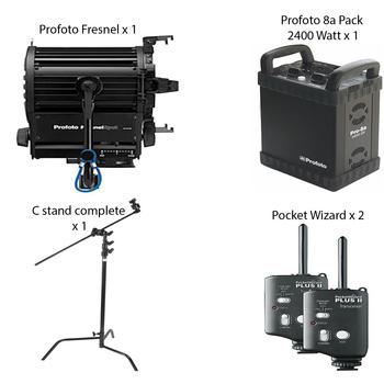 Rent Profoto Fresnel Kit