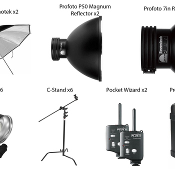 Rent Giant Profoto Kit