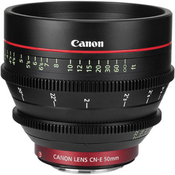 Rent Canon CNE 50mm T1.3 L F Cine Lens