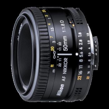 Rent Nikon AF Nikkor 50mm f/1.8D Lens
