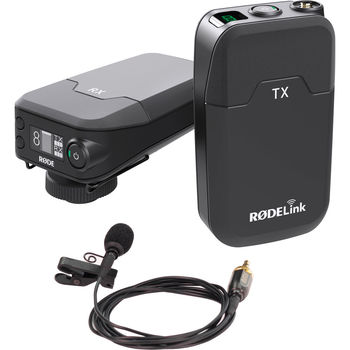 Rent RodeLink Wireless Filmmaker Kit Lav Mic